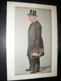 Vanity Fair Print: 1901 Provost of Eton, Teacher